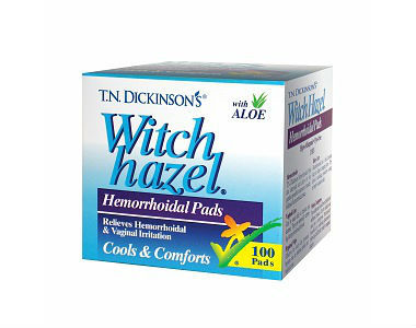 T.N. Dickinson's Hemorrhoid Pads Review - For Relief From Hemorrhoids