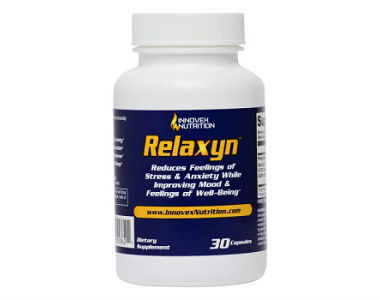 Innovex Nutrition Relaxyn Review - For Relief From Anxiety And Tension