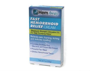 HemAway Hemorrhoid Relief Cream Review - For Relief From Hemorrhoids
