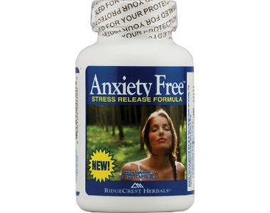 RidgeCrest Herbals Anxiety Free Review - For Relief From Anxiety And Tension