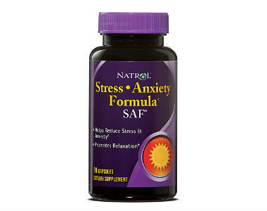 Natrol SAF Stress and Anxiety Formula Review - For Relief From Anxiety And Tension