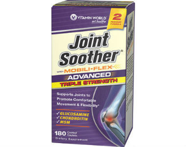 Vitamin World Joint Soother Review