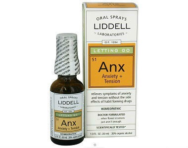Liddell Laboratories Anx Review - For Relief From Anxiety And Tension