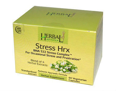 Herbal Destination Stress Hrx Review - For Relief From Anxiety And Tension