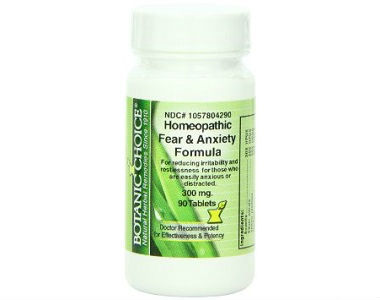 Botanic Choice Homeopathic Fear and Anxiety Formula Review - For Relief From Anxiety And Tension