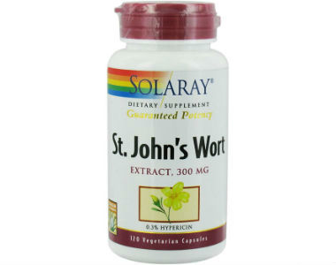Solaray St. John's Wort Review - For Relief From Anxiety And Tension