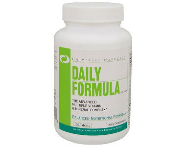 Universal Nutrition Daily Formula Review - For Relief From Anxiety And Tension