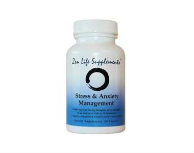 Zen Life Supplement Review - For Relief From Anxiety And Tension