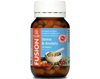Fusion Health Stress Review - For Relief From Anxiety And Tension