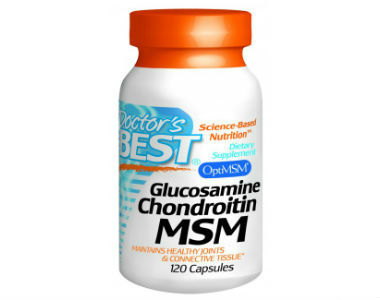 Glucosamine Chondroitin MSM 120C Doctor's Best Joint Health Supplement Review