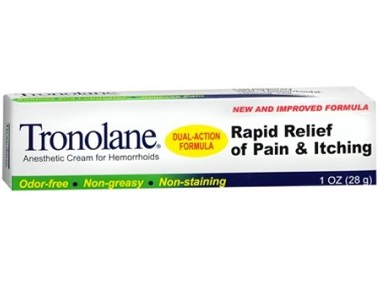 Tronolane Anesthetic Cream For Hemorrhoids Review