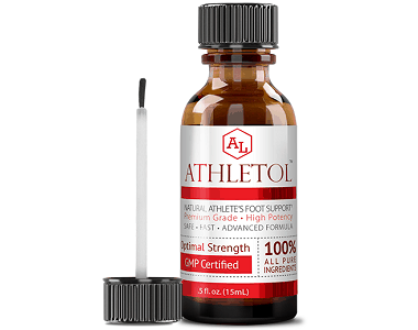 Approved Science Athletol Review - For Symptoms Associated With Athletes Foot