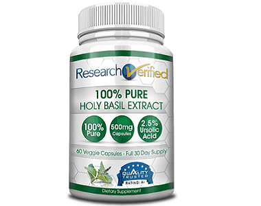 Research Verified 100% Pure Holy Basil Extract Review - For Improved Overall Health