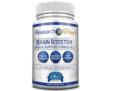 Research Verified Brain Booster Review - For Improved Brain Function And Cognitive Support