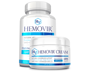 Approved Science Hemovir Review - For Relief From Hemorrhoids