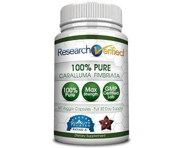 Research Verified Caralluma Fimbriata Review - For Weight Loss