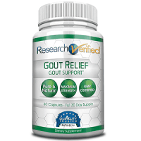 Research Verified Gout Relief