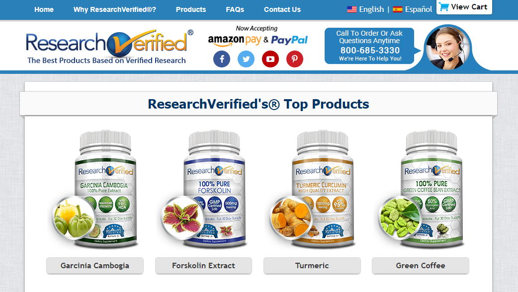 Research Verified Supplements Brand Review