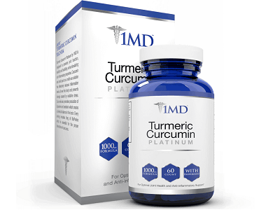 1MD Turmeric Curcumin Platinum Review