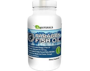 CRI Naturals Paragon Fish Oil Omega 3 Supplement Review