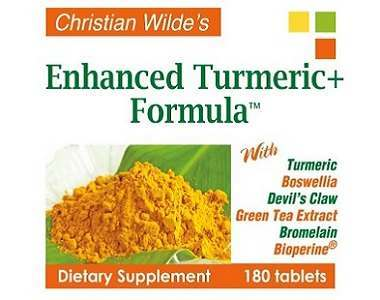 Christian Wilde's Enhanced Turmeric