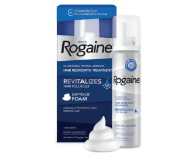 Men's Rogaine Unscented Foam Review