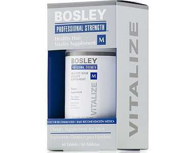 Men's Bosley Hair Healthy Vitality Supplement Review