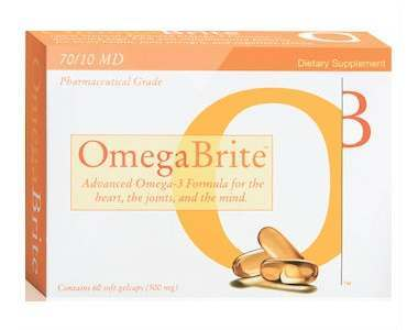 OmegaBrite Gelcaps Review - For Cognitive And Cardiovascular Support