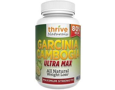 Thrive Naturals Garcinia Cambogia Review - For Weight Loss