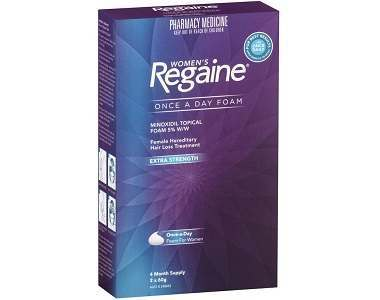 Women's Rogaine Foam Review