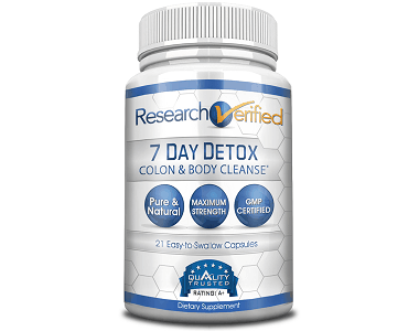 Research Verified 7 Day Detox Review - For Improved Digestion And Liver Function