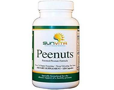 SunVita PEENUTS Prostate Support Supplement Review