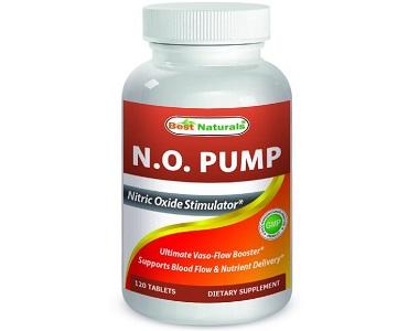 Best Naturals N.O. Pump Nitric Oxide Supplement Review
