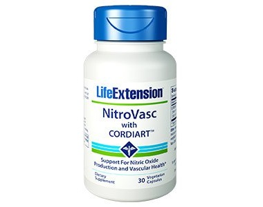 Life Extension NitroVasc with Cordiart Review