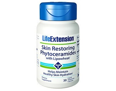 Life Extension Skin Restoring Phytoceramides Review - For Aging Skin