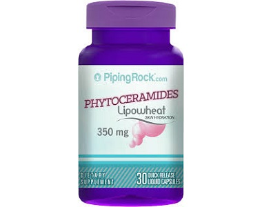PipingRock Phytoceramides Lipowheat Anti Aging Supplement Review