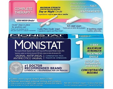 Monistat 1 Complete Therapy Less Mess Ovule Review