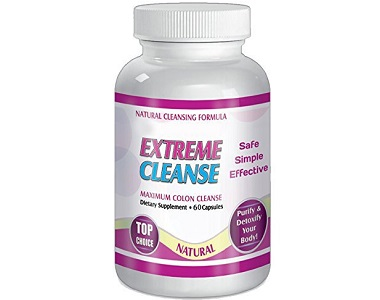 Natural Cleansing Formula Extreme Cleanse Review - For Improved Digestion and Colon Function