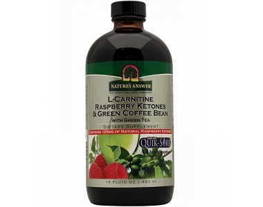 Nature's Answer L-Carnitine Raspberry Ketones & Green Coffee Bean Review