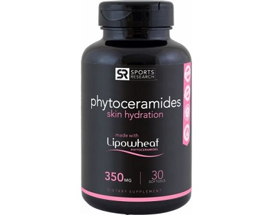 Sports Research Phytoceramides Skin Hydration Anti Aging Supplement Review