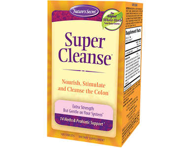 Nature's Secret Super Cleanse Review - For Improved Digestion and Colon Function