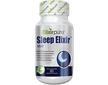 ElixirPure Sleep Elixir Review - For Restlessness and Insomnia