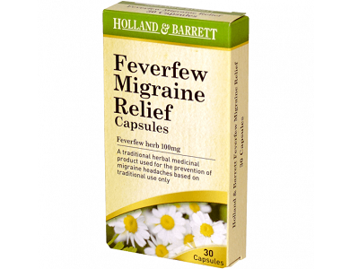 Holland and Barrett Feverfew Migraine Relief Review