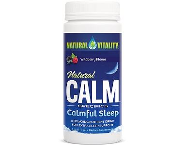 Natural Vitality Natural Calm Calmful Sleep Review - For Restlessness and Insomnia