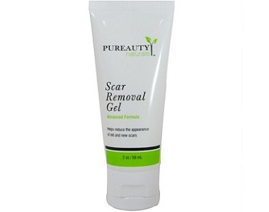 Pureauty Naturals Scar Removal Gel Review - for fading all types of scars