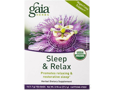 Gaia Herbs Sleep & Relax Review