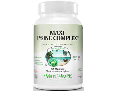 Maxi Health Maxi Lysine Complex Review - For Relief From Canker Sores