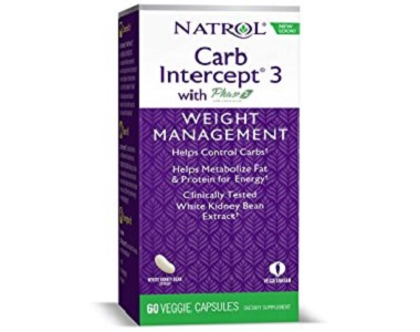 Natrol Carb Intercept 3 Carb Blocker Supplement Review