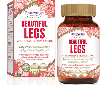 Reserveage Nutrition Beautiful Legs With Diosmin Review