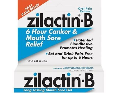 Zilactin-B Canker and Mouth Sore Relief Review